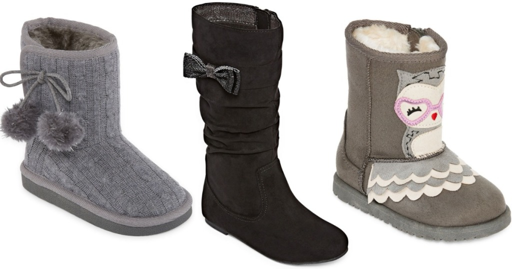 7f5fc918440eb HURRY on over to JCPenney.com where select Girls Arizona and Okie Dokie  Boots are on sale Buy 1 Get 2 FREE! Sweet!