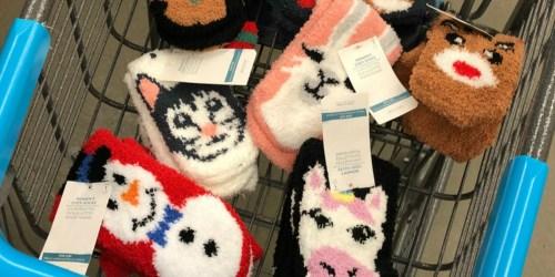 Gap Factory Fuzzy Socks Only $1.48 (Regularly $7)