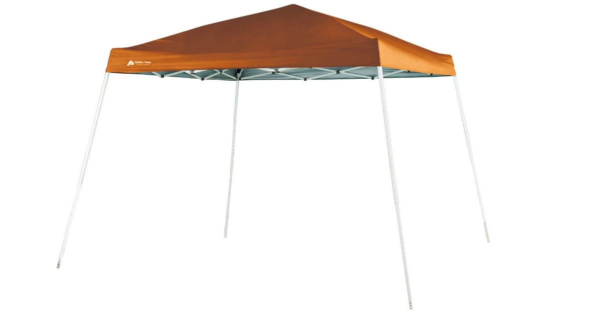 Head over to Walmart.com and score this Ozark Trail 10u0027x10u2032 Slant Leg Canopy (in tawny only) for just $29.60 (regularly $59). OR you can grab the orange ...  sc 1 st  Hip2Save & Walmart: Ozark Trail 10u0027 x 10u0027 Instant Canopy Only $29.60 (Regularly ...