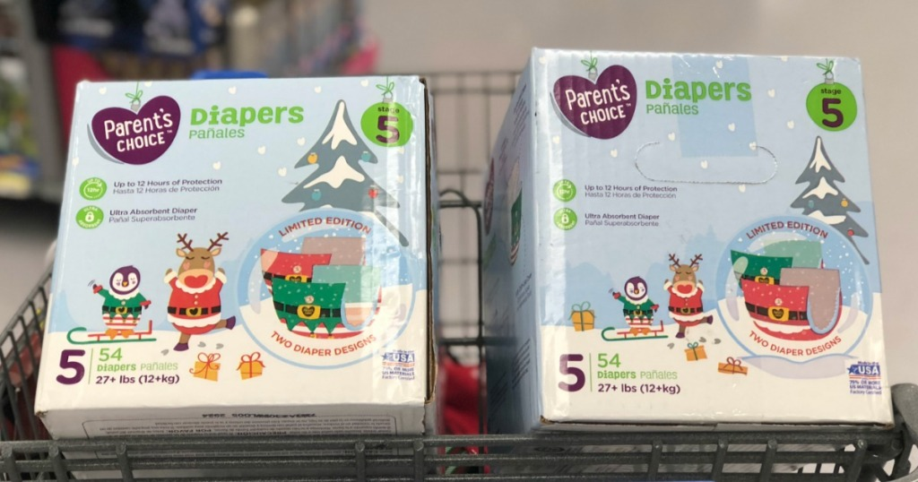Parent's Choice BOXED Diapers Possibly ONLY $3 94 at Walmart