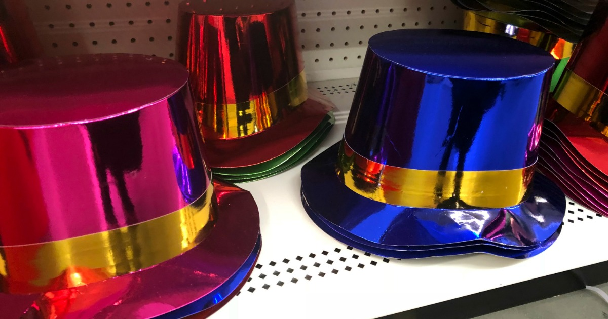 New Year's Eve Party Supplies at Dollar Tree - ONLY $1 ...