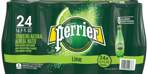 Amazon: Perrier Lime Flavored Sparkling Water 24-Pack Only $10.63 Shipped