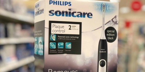 Philips Sonicare 2 Series Electric Toothbrush TWO-Pack $39 Shipped After Rebate + Earn $15 Kohl's Cash