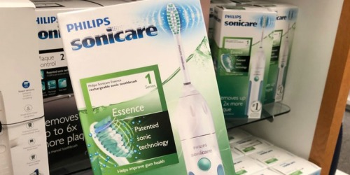 Philips Sonicare Essence Rechargeable Toothbrush ONLY $11.95 (Regularly $49.99)