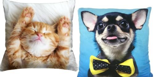 Walmart.com: Pet Throw Pillows ONLY $3