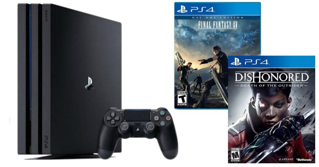 Playstation 4 Pro Bundle Set Just $349 99 Shipped (Regularly $520