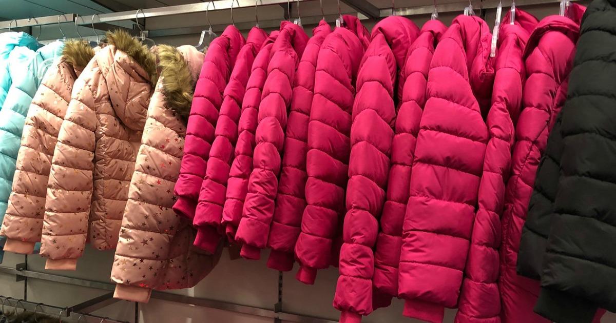 pink puffer jackets