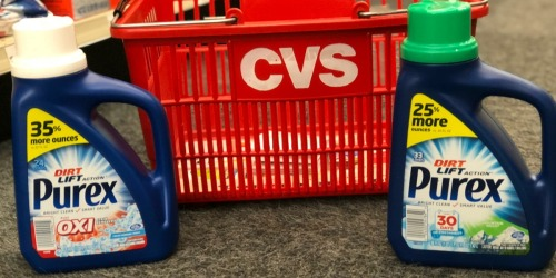 FREE Purex Laundry Detergent at CVS (After Rewards)