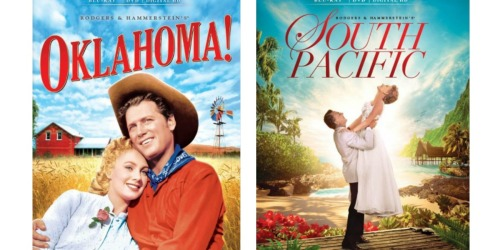 Oklahoma! & South Pacific Blu-ray Combo Pack ONLY $5.99 Each Shipped (Regularly $15)