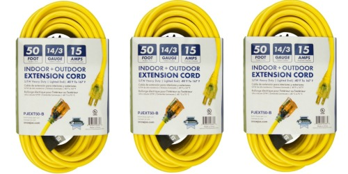 Walmart.com: Snow Joe 50-Foot Extension Cord Only $16.99 (Regularly $36.88)