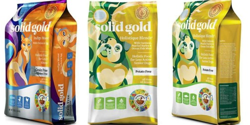 Petco: Solid Gold Pet Food 4-Pounds Only $2.08 (After Rewards)