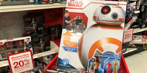 Target.com: Star Wars BB-8 w/ Force Link Only $91.99 Shipped (Regularly $200) + More