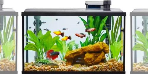 50% or More Off Aquarium Starter Kits at Petsmart