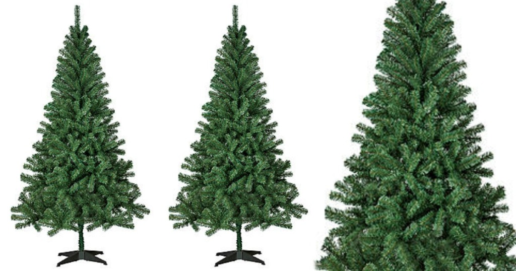 TWO 6\' Artificial Christmas Trees ONLY $39.98 Shipped + Get $105.40 ...