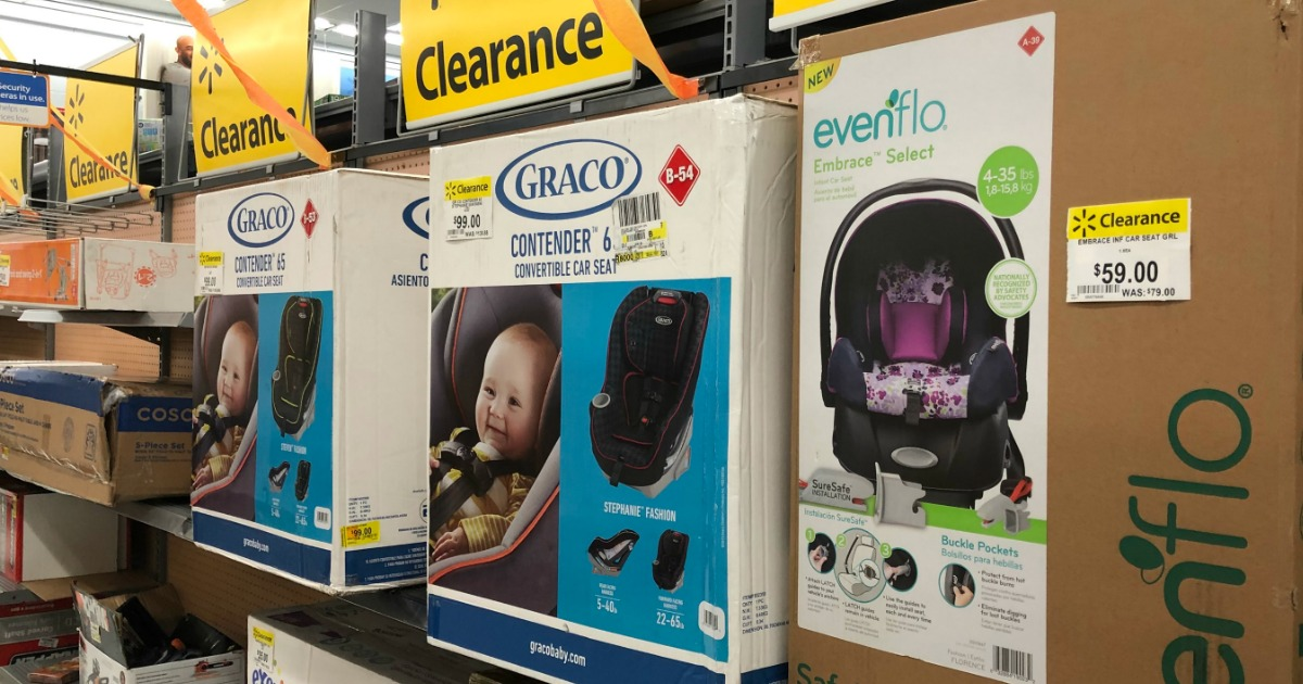 Walmart Baby Clearance Finds: Evenflo & Graco Car Seats