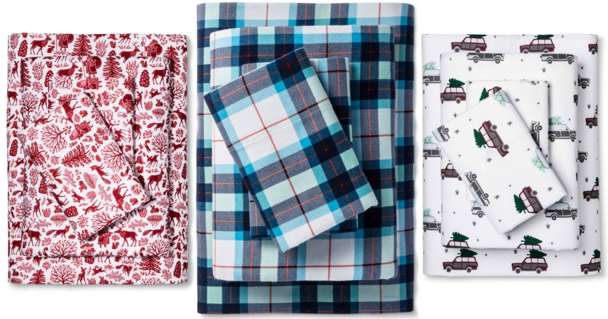 Target Com Wondershop Flannel Sheet Sets As Low As 13 99 Shipped Awesome Reviews More Hip2save