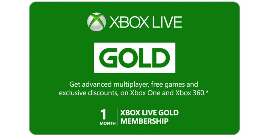 Xbox Live Gold Or Game Pass 1 Month Subscription Only 1
