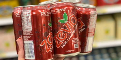 Target: Zevia Soda 6-Packs Only $1.99 (Regularly $5) + Possible FREE $5 Movie Voucher