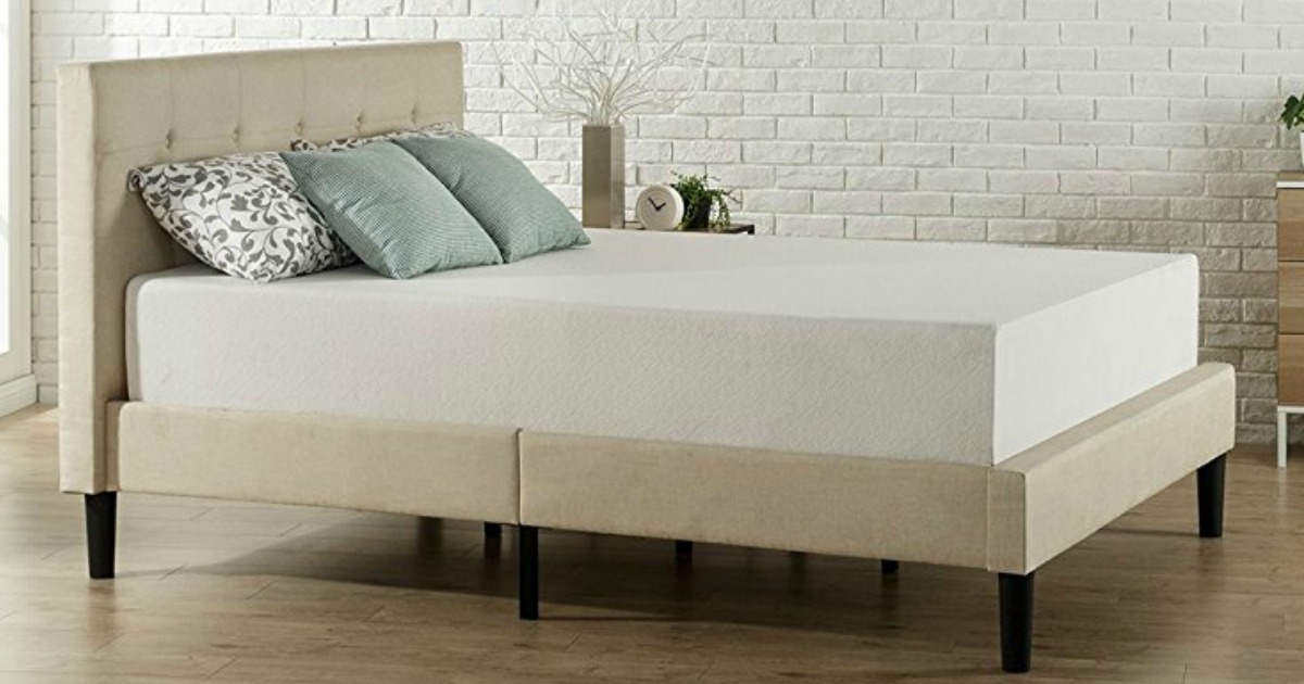 Zinus 12 Quot Memory Foam King Size Mattress Only 204 Shipped