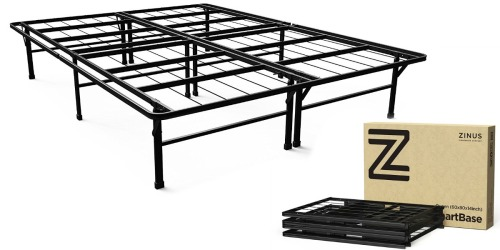 Amazon: Zinus SmartBase Queen Platform Bed Frame Only $41 Shipped (Regularly $99)
