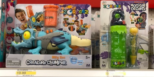 40% Off Zorbeez Monster Oozers at Target – Just Use Your Phone