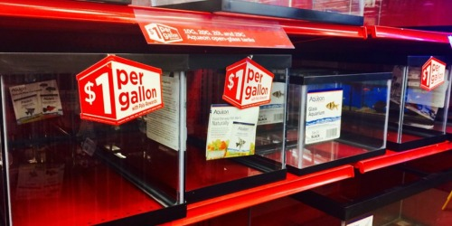 Petco Stores: $1 Per Gallon Open-Glass Aquarium Tanks