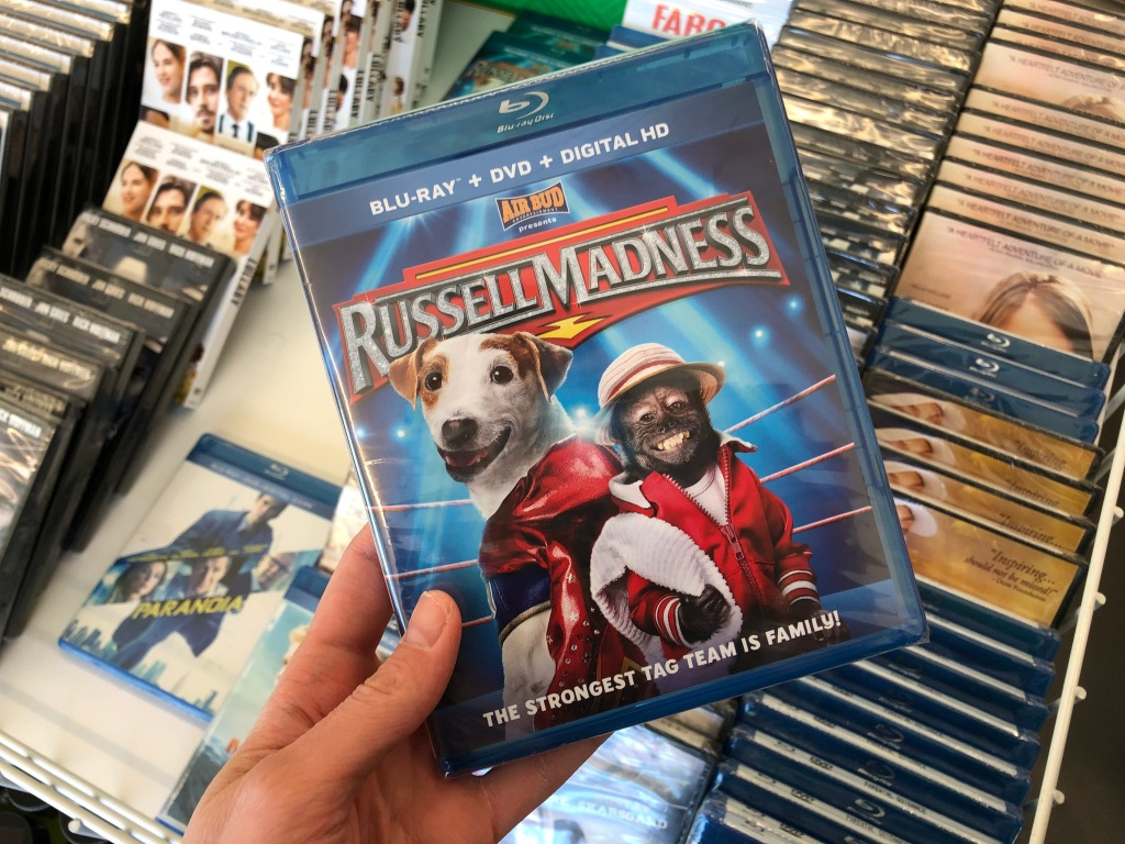 Blu-rays & DVDs Just $1 at Dollar Tree