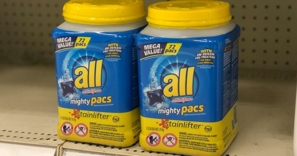 target com all laundry detergent 72 count mighty pac containers 5