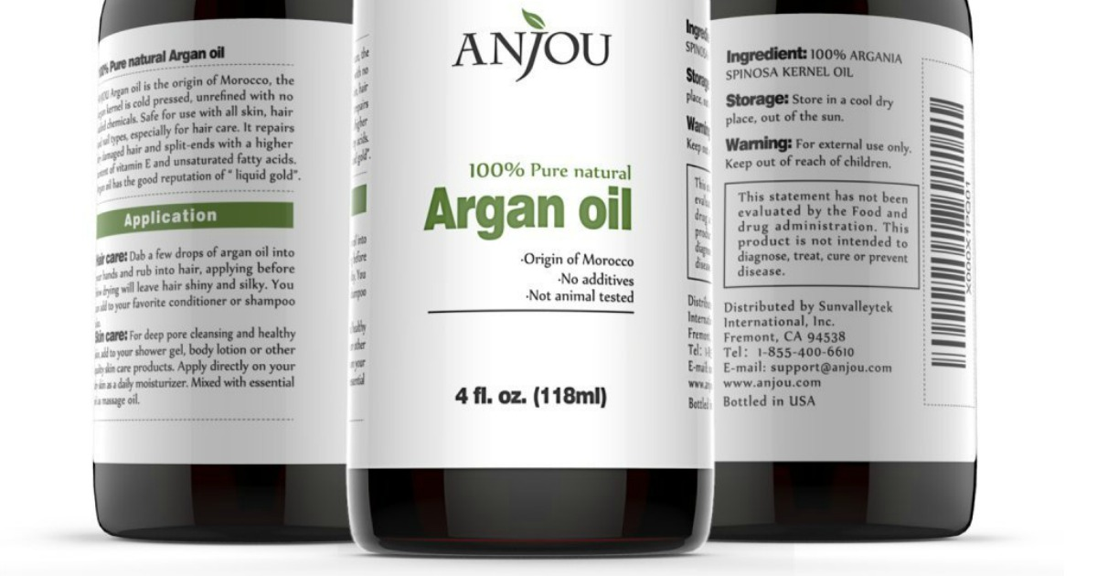 Amazon: Pure Moroccan Argan Oil Only $8