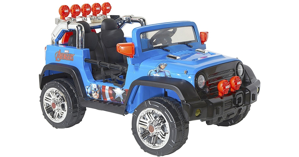 Walmart Com Marvel Avengers Ride On Toy Only 159 Shipped