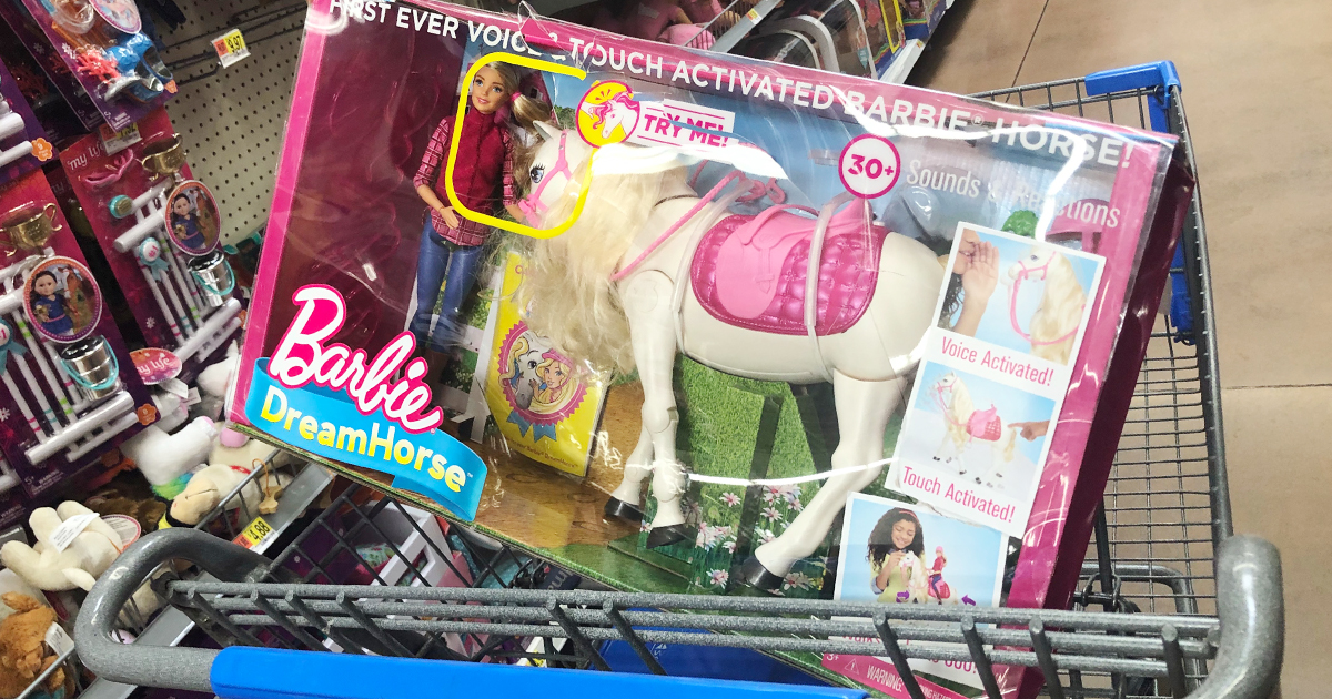 Walmart Clearance Find Barbie Dreamhorse And Doll Only