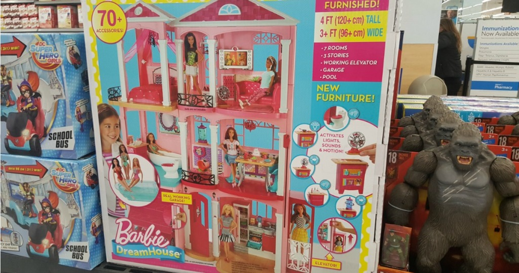 Walmart Clearance Barbie Dreamhouse Possibly Only 75 Regularly