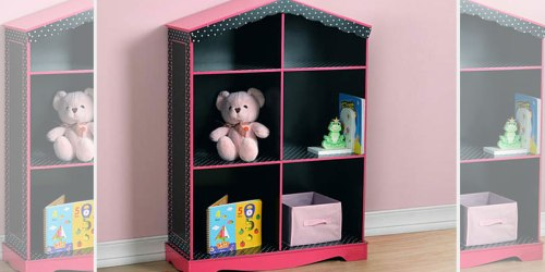 $10 Off $50 Big Lots Coupon = Doll House Bookcase $40.30 (Regularly $80) + FREE Baskets