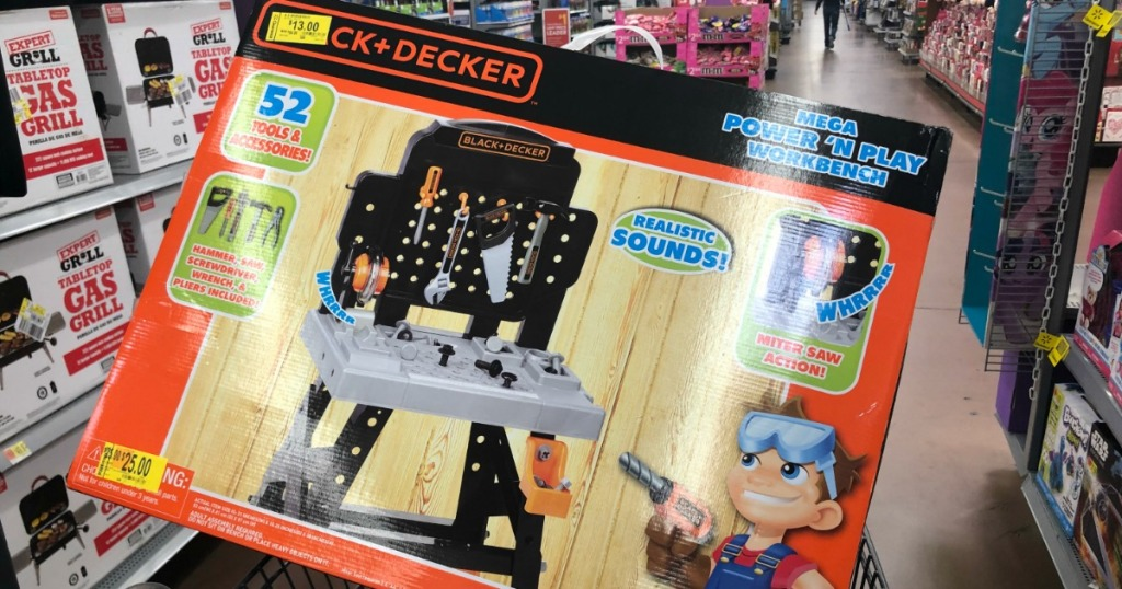 Walmart Clearance Black Amp Decker Toy Work Bench Only 13 Regularly