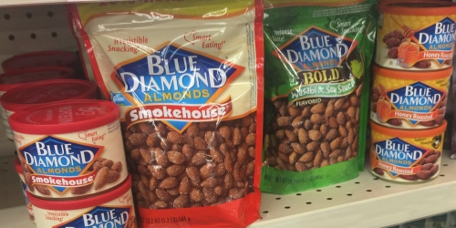 Blue Diamond Almonds HUGE 1-Pound Bags Only $5.99 at Walgreens (Regularly $10) + Free Store Pick-Up