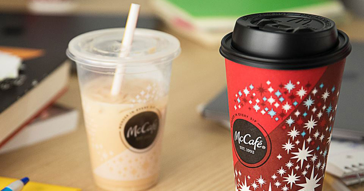Stores, restaurants, hotels, and other places that offer senior discounts – McDonalds McCafe coffee