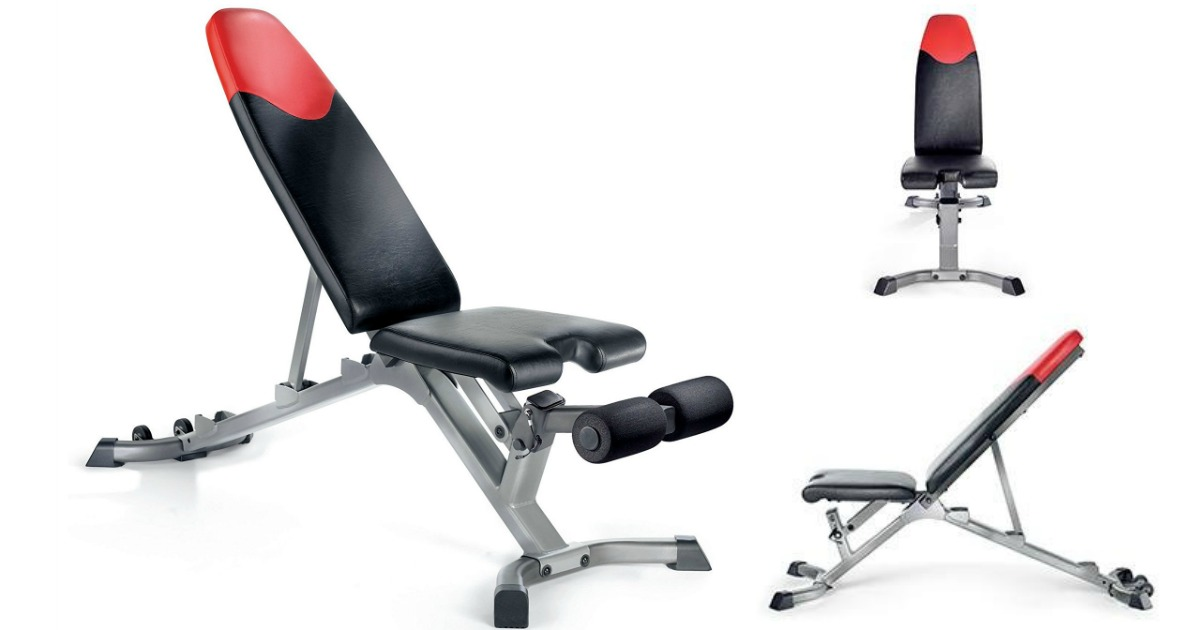 Bowflex Adjustable Weight Bench Only 99 Shipped