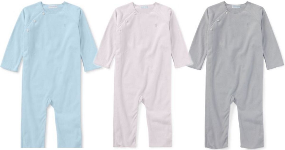 87d92a82 Ralph Lauren Infant Coverall Only $9.59 (Regularly $35) + More ...
