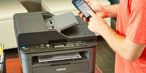 Brother Wireless Monochrome All-In-One Laser Printer Just $79.99 Shipped (Regularly $160)