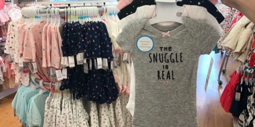 Carter's Baby Apparel as Low as $1.44 at Kohl's (Regularly $14+)