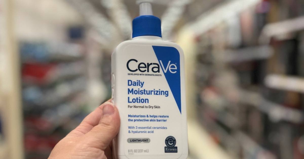 photo relating to Cerave Coupon Printable called Higher Truly worth CeraVe Discount codes \u003d 50% Off Moisturizing Lotion