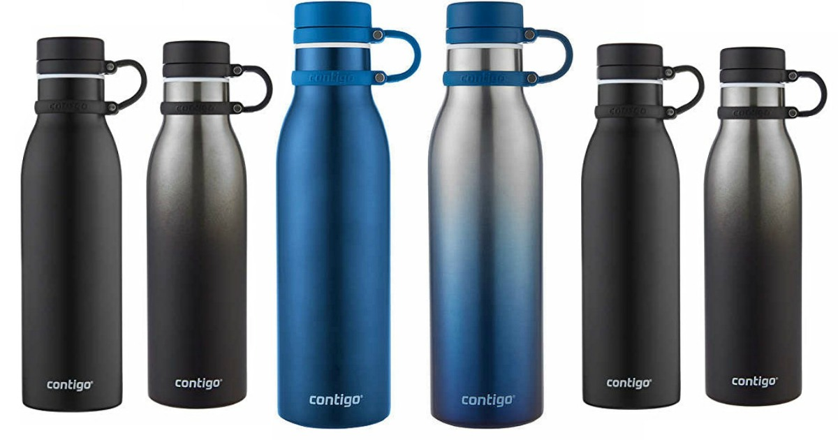 0a6c81fb76 Costco: TWO Contigo Stainless Steel 20oz Water Bottles Only $9.99 Shipped  (Just $5 Each) - Hip2Save
