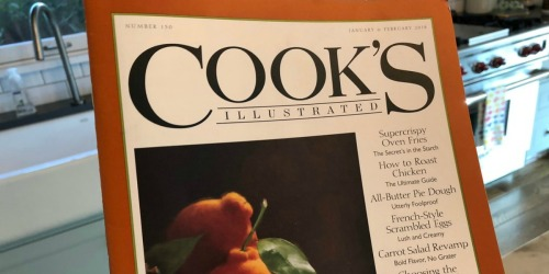 Cook's Illustrated Magazine One Year Subscription Only $7.99 (Great Mother's Day Gift)