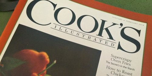 Cook's Illustrated Magazine TWO Year Subscription Only $14.99