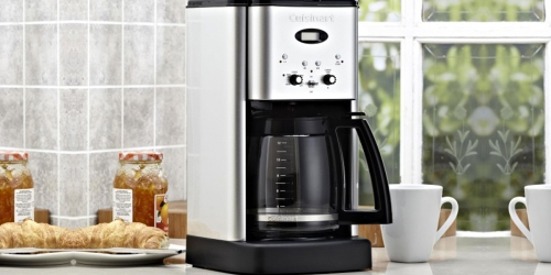 Best Buy: Cuisinart 12-Cup Programmable Coffee Maker Only $44.99 Shipped (Regularly $90)