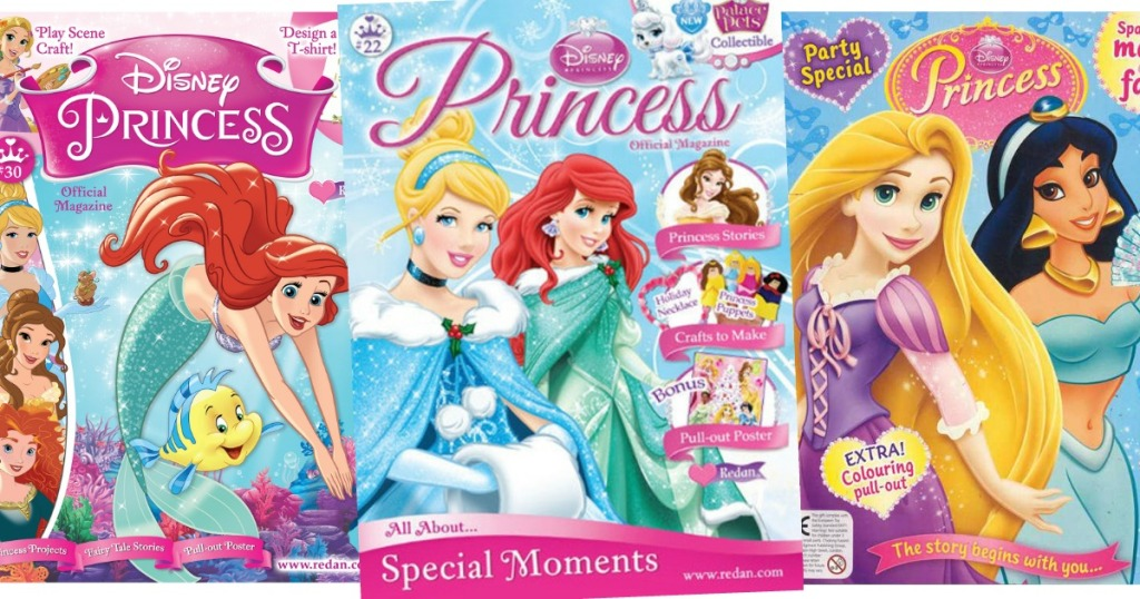 Disney Princess Magazine Subscription Only 12 99 Hip2save