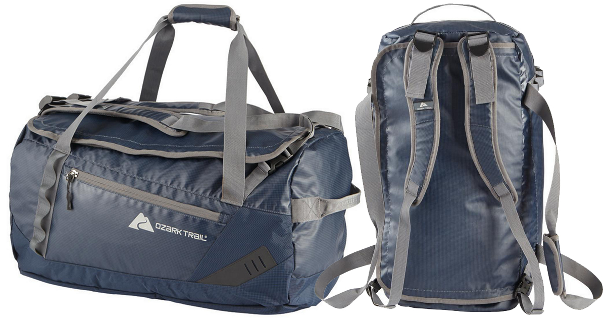 7e096b0c2e84 Walmart.com: Ozark Trail Duffel Bag/Backpack ONLY $15 (Regularly $28 ...