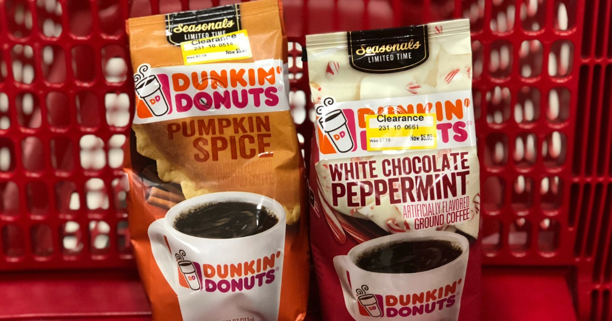 Dunkin' Donuts ground coffee