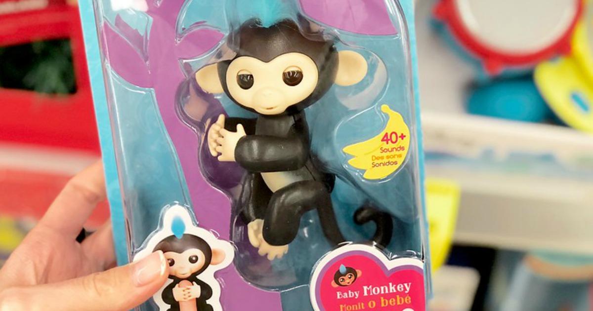 Walmart Com Wowwee Fingerlings Baby Monkeys Only 14 84