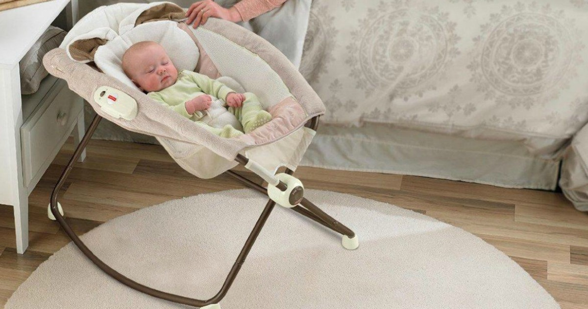 Fisher Price Snugabunny Deluxe Rock N Play Sleeper Only 40 99 Shipped Regularly 80 Hip2save